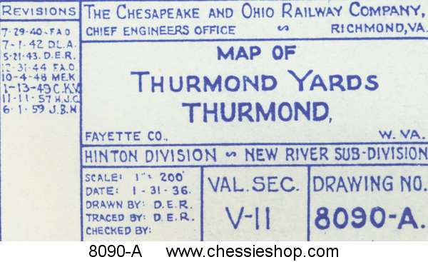 Thurmond Yards, Thurmond, WV 1/31/36 (12x64)