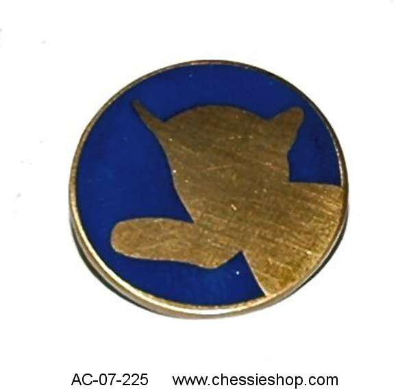 Pin, Lapel, Chessie Silhouette