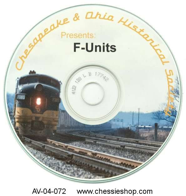 CD: C&O F-Unit Photo