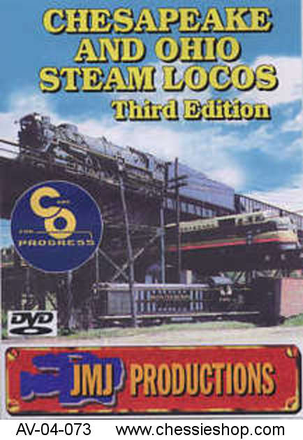 DVD: C&O Steam Locos 4th Edition