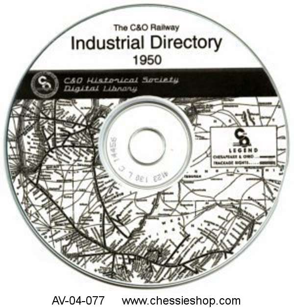 CD: C&O Railway Industry Directory 1950