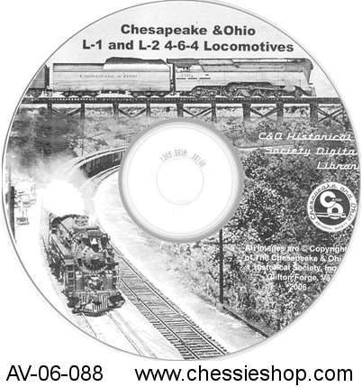 CD: C&O L-1 and L-2 4-6-4 Locomotives
