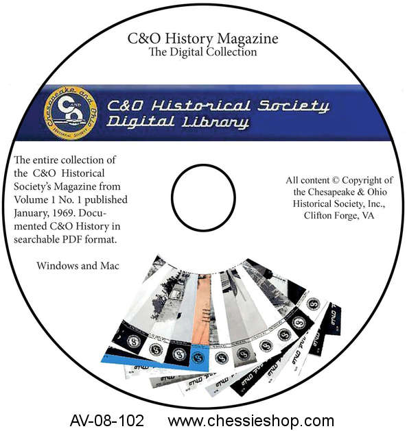 Data DVD: C&O Historical Magazine Digital Collection