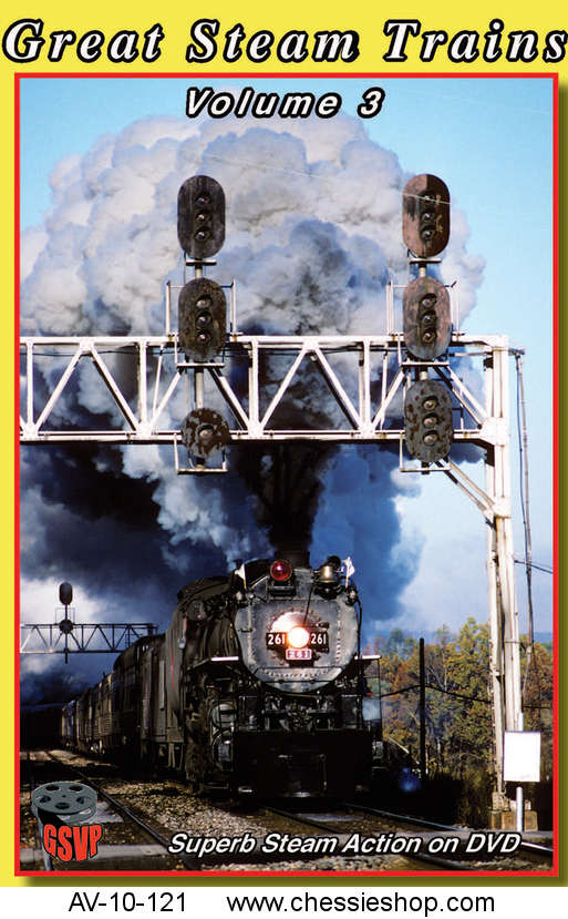 AV-10-121 Great Steam Trains Volume 3 continues the tradit...(more)