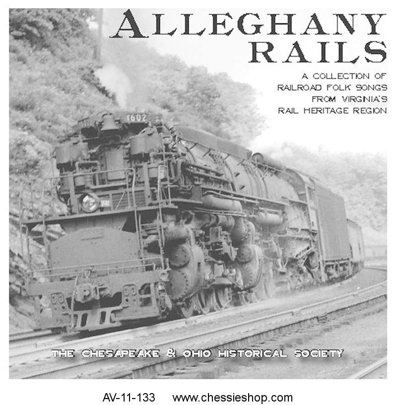 CD: Song of the Alleghany Rails