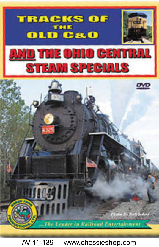 AV-11-139 Tracks of the old C&O and Ohio Central steam spe...(more)