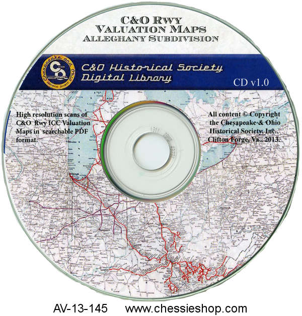 CD: Valuation Maps, Alleghany Subdivision