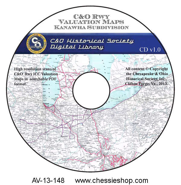 CD, Valuation Maps, Kanawha Subdivision