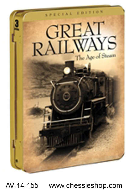 DVD: Great Railways - Age of Steam