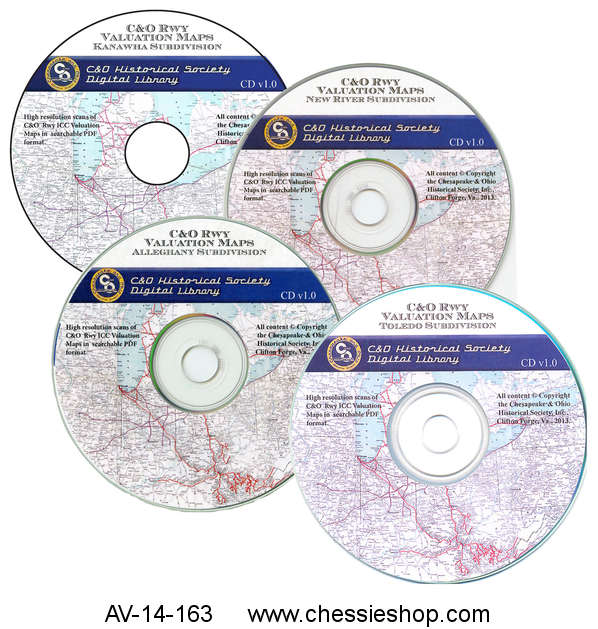 CD, Valuation Maps, Set of 4