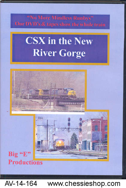 """AV-14-164 """"CSX in the New River Gorge"""" shows a...(more)"""