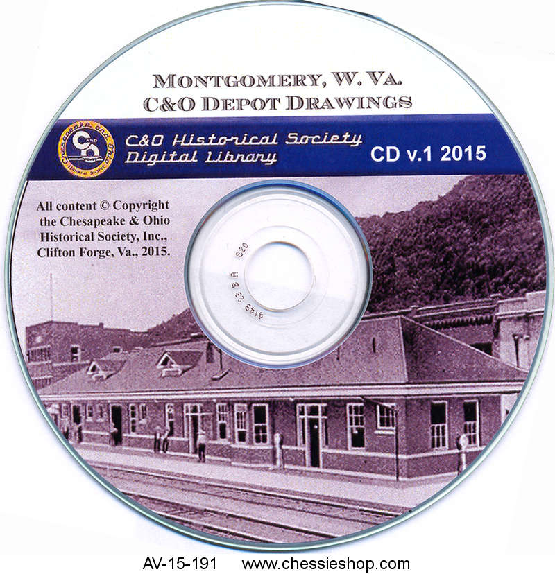 CD: Montgomery, WV Depot Drawings