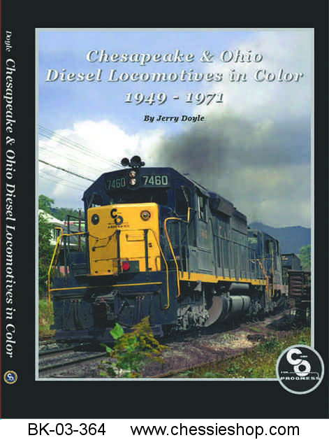 C&O Diesel Locomotives in Color
