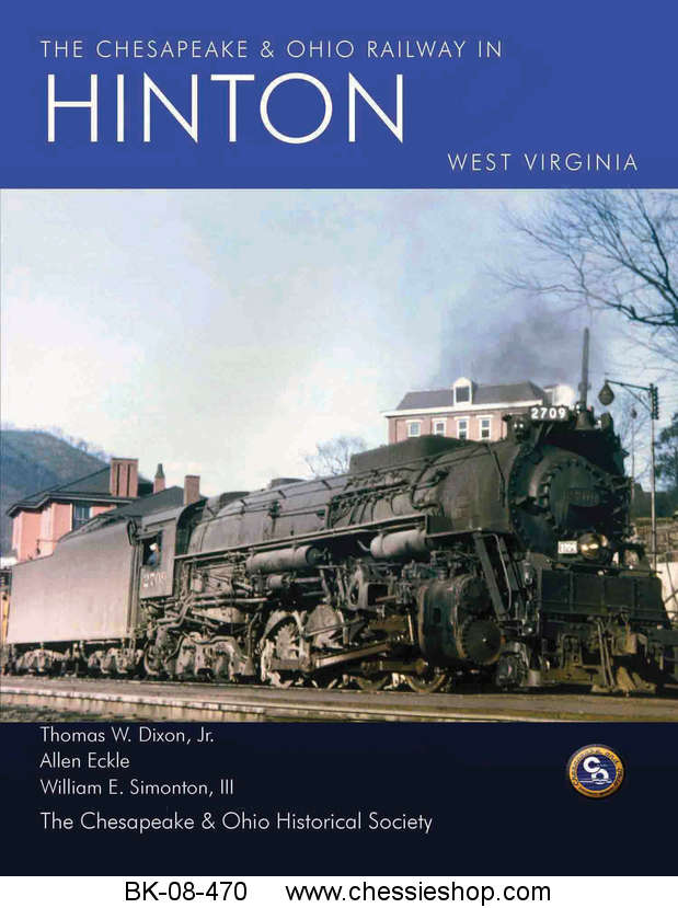 Book, C&O Railway In Hinton