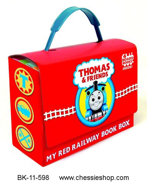 My Red Railway Book Box, Thomas & Friends