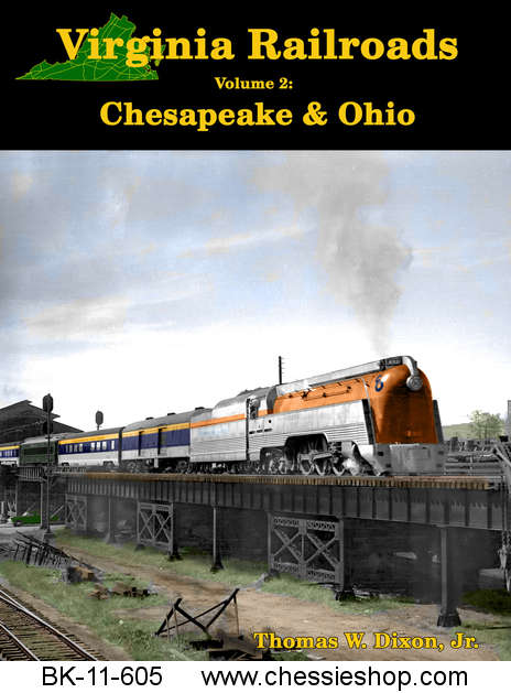 Virginia Railroads - Volume 2 Chesapeake & Ohio - Click Image to Close