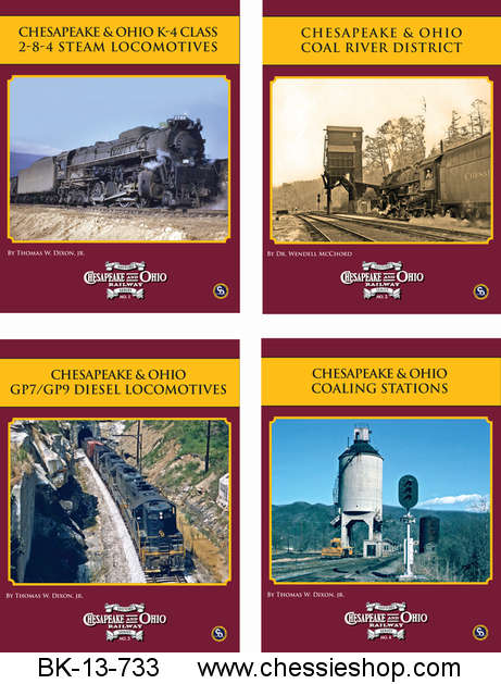 C&O Railway Book Series
