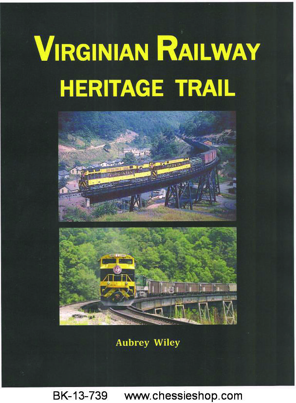 BK-13-739 The VIRGINIAN RAILWAY HERITAGE TRAIL by Au...(more)
