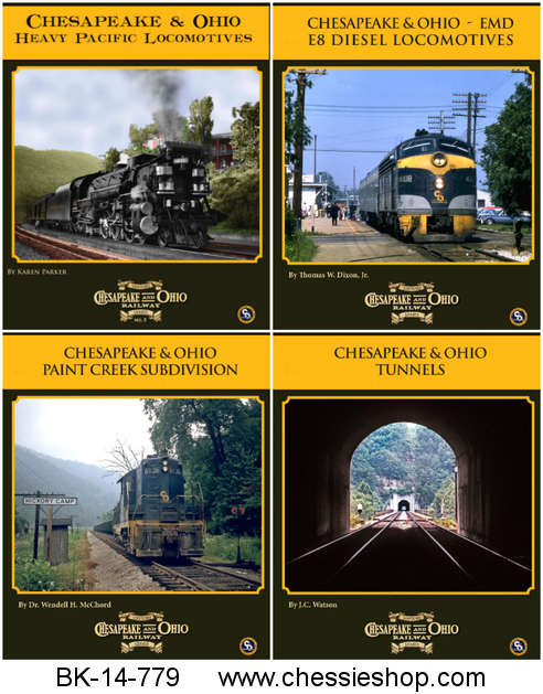 Book, C&O Rwy Series, 2014, Vol 5-8