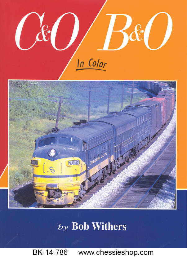 Book, C&O/B&O in Color