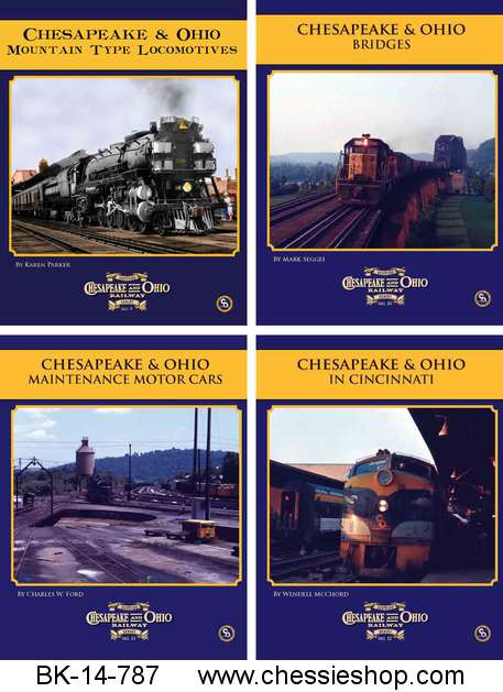 Book, C&O Rwy Series, 2015, Vol 9-12