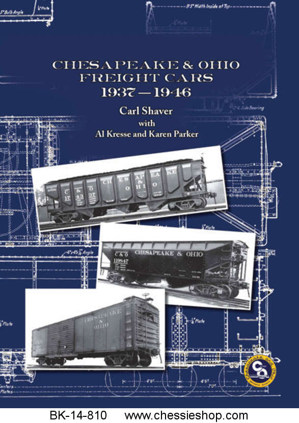 Book, C&O Freight Cars 1937-1946