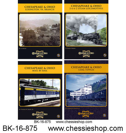 Book, C&O Rwy Series, 2016, Vol 13-16