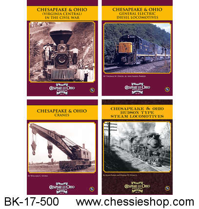 C&O Railway Series, 2017, Vol 17-20
