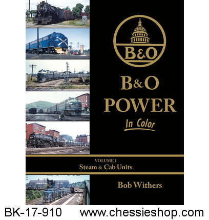 B&O Power in Color Volume 1: Steam & Cab Units