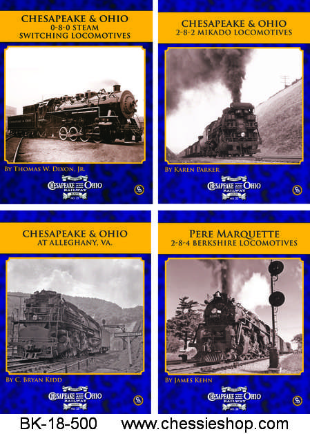 C&O Railway Series, 2018, Vol 21-24