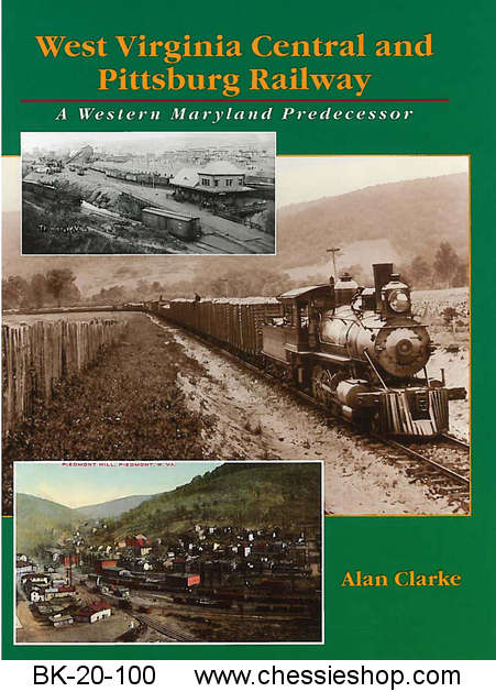 West Virginia Central & Pittsburg Railway - Click Image to Close