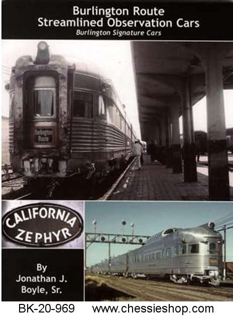 Burlington Route Streamlined Observation Cars