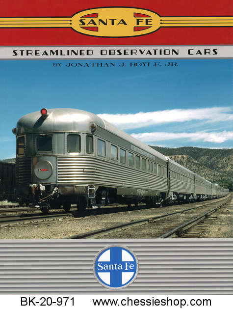 Santa Fe Streamlined Observation Cars