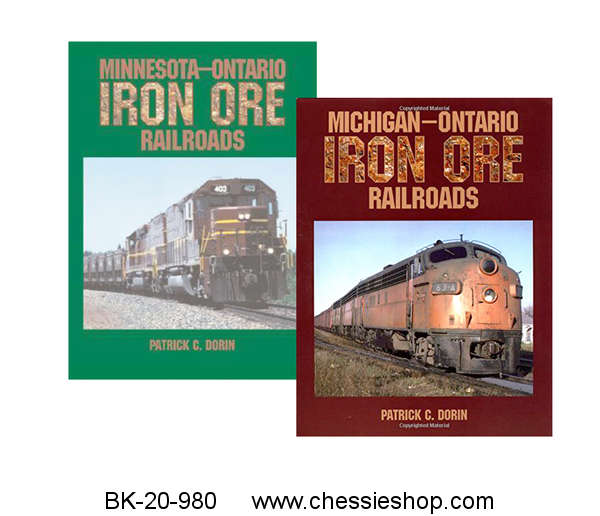 Iron Ore Railroads Book Set