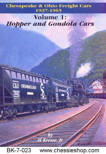 C&O Freight Cars 1937-1965 Hoppers and Gondolas