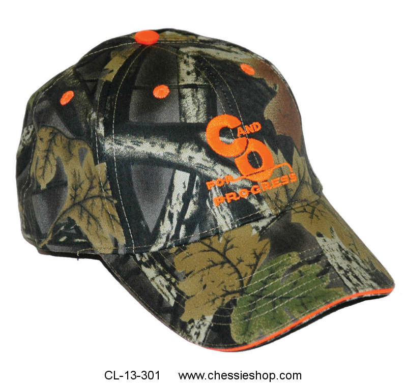 Cap, C&O For Progress, Camouflage