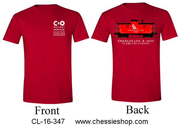 Shirt, Tee Heritage Center Red Caboose