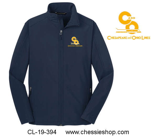 Chesapeake and Ohio Lines Embroidered Jacket Navy