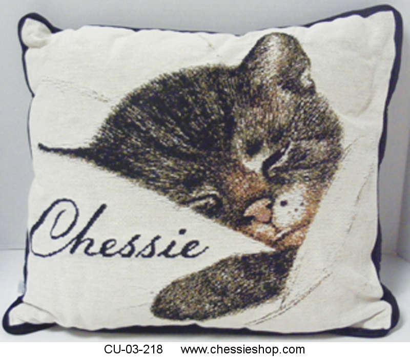 CU-03-218 High quality full count tapestry pillow featurin...(more)