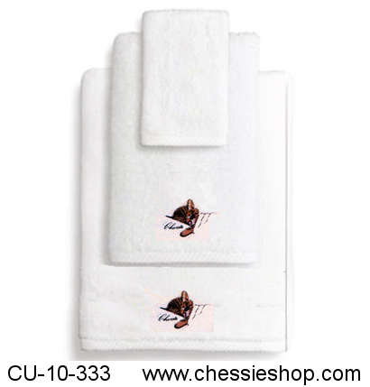 Towels, 3 Piece Bathroom Towel Set, Chessie