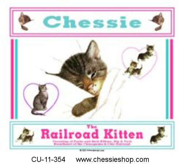 CU-11-354 Chessie & Family MousepadThis wonderful piece ha...(more)