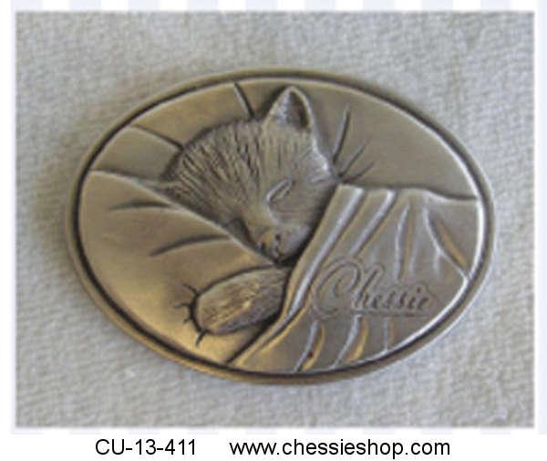 CU-13-411   Chessie Pewter MagnetOur beloved Chessie in ...(more)