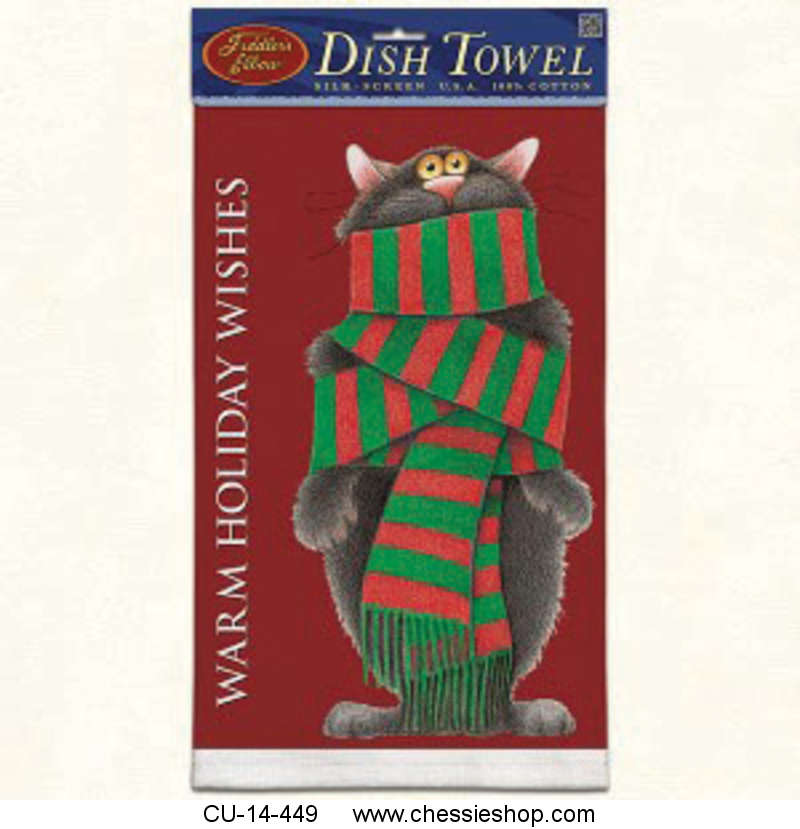 Towel, Kitchen, Warm Holiday Wishes