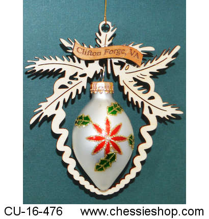 CU-16-476 Our Clifton Forge ornament has a eglantly scolle...(more)