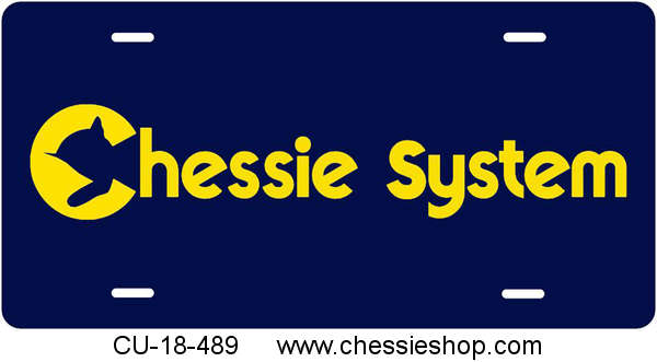 License Plate, Chessie System
