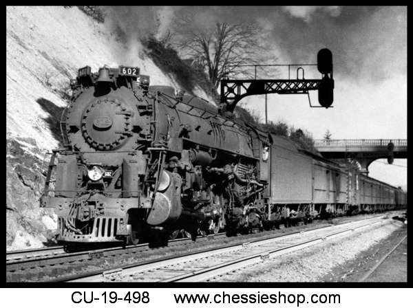 Magnet, C&O J-3 4-8-4 Greenbrier Steam Locomotive