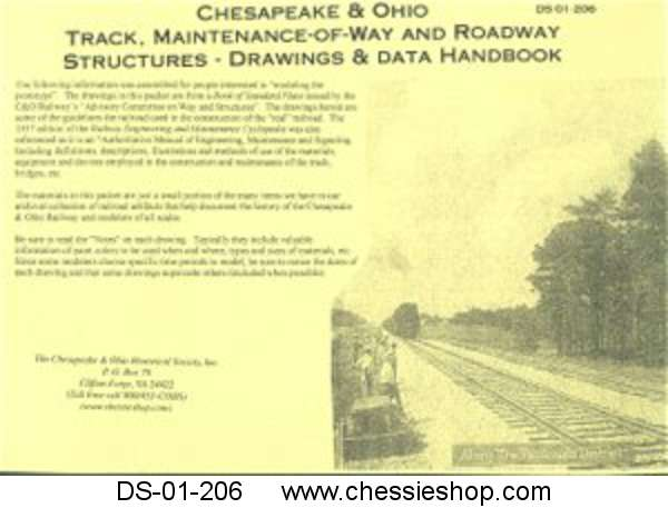 C&O Track, Maintenance-of-Way and Roadway Structures - Drawing &