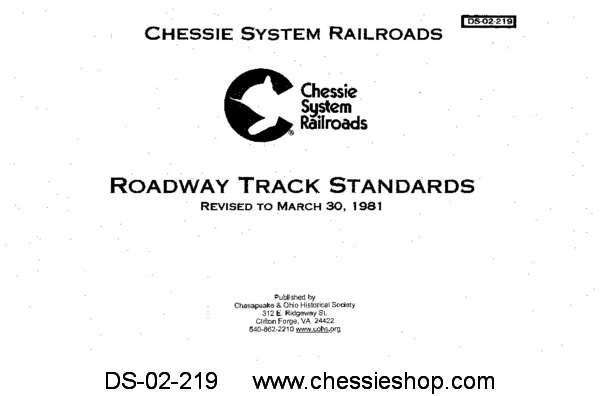 Chessie System - Roadway & Track Standards