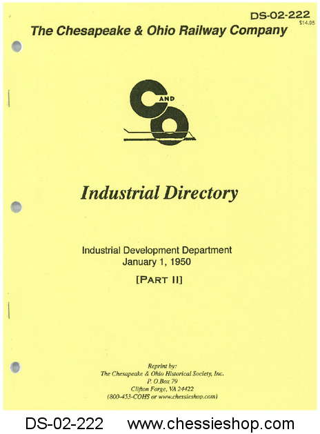 1950 Listing of Businesses and Industry Part II