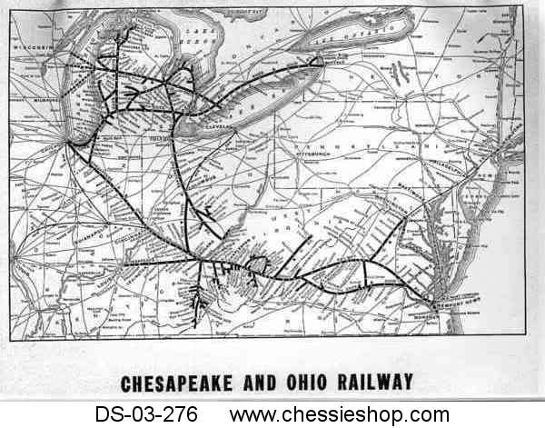 C&O Coal Districts with Maps - Oct. 1947